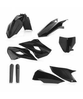 FULL kit plastique ACERBIS noir HUSQVARNA TE/FE 2014-2016, TC/FC 2014-2015