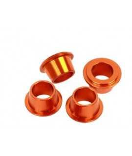 douille alu pontets SCAR KTM Orange