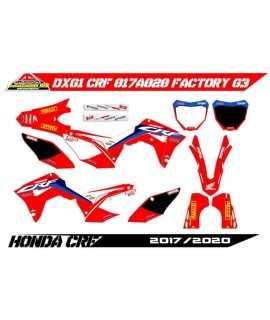 kit deco 450 CRF 2019-2020, 250 CRF 19-21 factory g3