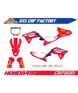kit deco 450 CRF 2021-2022, 250 CRF 22 factory