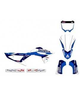 kit deco 450 CRF 2021-2022, 250 CRF 22 G1 r2a bleu