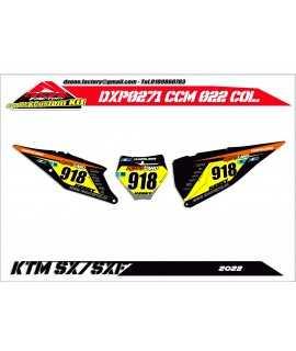 fonds de plaque perso KTM kit D