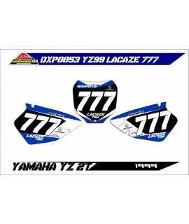 fonds de plaque perso YAMAHA kit D