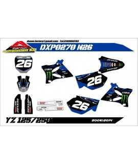 kit deco 125/250 YZ 06-14...