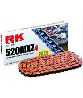 chaine RK 520 MXZ4 orange