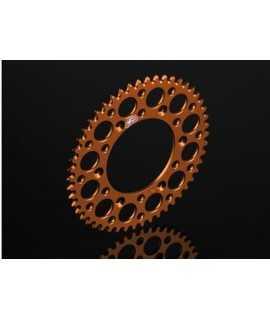 couronne alu RENTHAL pour KTM orange