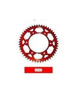 couronne alu 4MX pour CR/F rouge