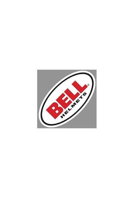 sticker BELL oval 8cm pour casque