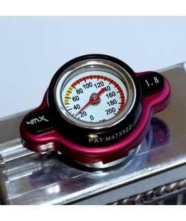 bouchon radiateur 4MX 1.8 thermomêtre rouge