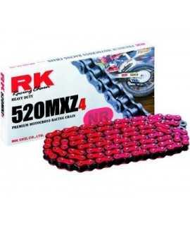 chaine RK 520 MXZ4 rouge