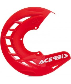 protege disque ACERBIS rouge