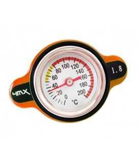 bouchon radiateur 4MX 1.8 thermomêtre KTM 03-15 orange