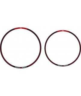 sticker jantes ARC noir rouge