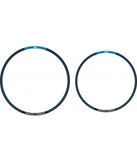 sticker jantes ARC noir bleu