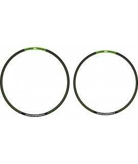 sticker jantes ARC noir vert