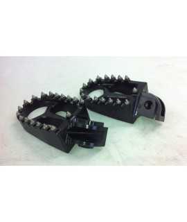 repose pieds alu noir KTM SX/F 03-15, EXC/F 03-16